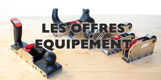 Les offres équipement rabot